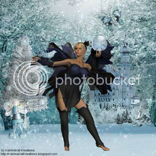 Fairies,Winter,Fantasy,Snow