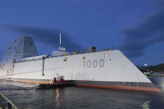 US Navy Poised to Take Ownership of Its Largest Destroyer