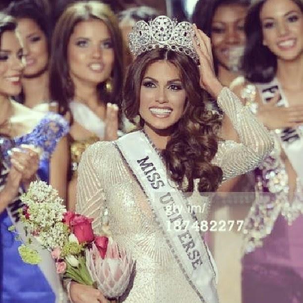 Miss Universe 2013 is Miss Venezuela Gabriela Isler Congratulations !!! ตัวแม่ยังไงก็เป็นตัวแม่สินะ #venezuela ประเทศที่มีนางงามจักรวาลมสกที่สุดในโลก ♥