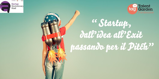 Startup: Dall'idea all'exit passando per il pitch