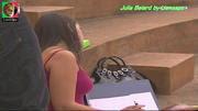 Julia Belard sensual no filme A última aposta