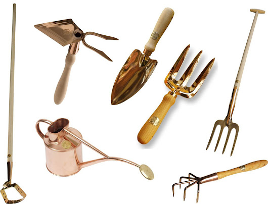 Copper Garden Tools