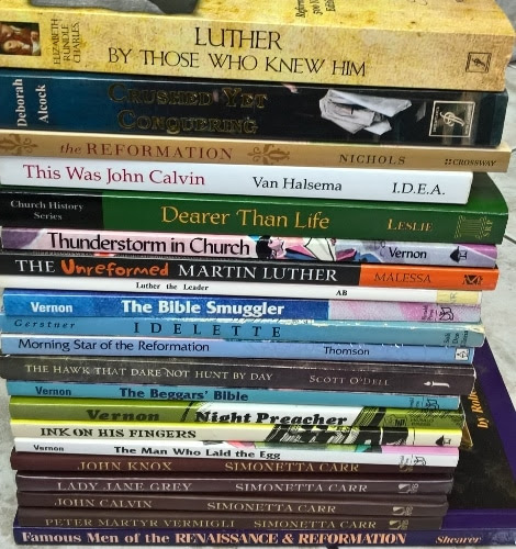 Luther and the Reformation Resource List - The Curriculum Choice