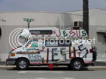 Jesus Garland Scrapbooking Van