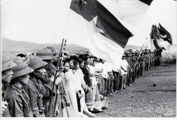 Combatientes vietnamitas. Septiembre de 1973. Foto: Estudios Revolución/Cubadebate