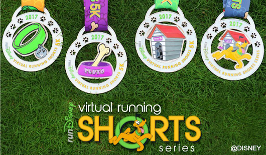 Disney's Virtual Shorts and My 50th runDisney Medal!