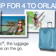 Atlantic Luggage Giveaway: Win a Family Trip for Four to Orlando (Ends 6/15)
