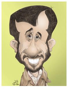 Mahmoud Ahmadinajad by Tamer Youssef