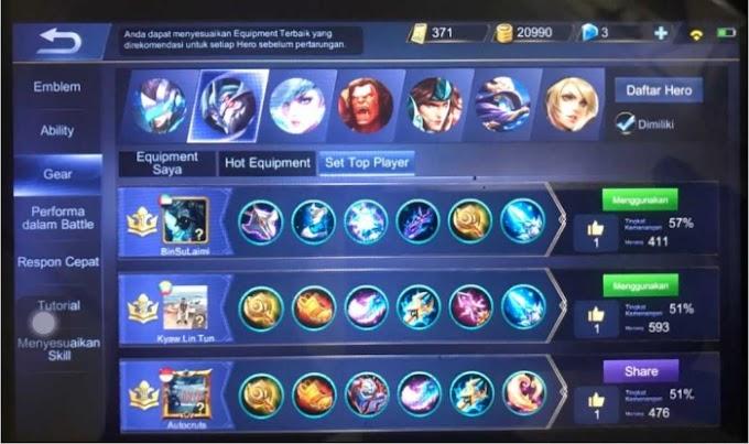 Inovator Tulungagung Information System Juga Top Lokal Game Mobile Legend