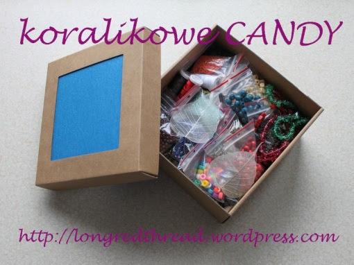 blog o robieniu biżuterii, CANDY, giveaway, making jewellery, robienie bizuterii, koraliki, korale, biżuteria handmade