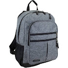 Eastsport Future Tech Backpack with Padded Electronic Storage Pocket, Black