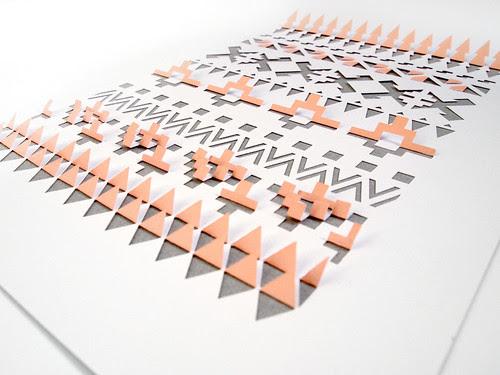 Aztec Papercut