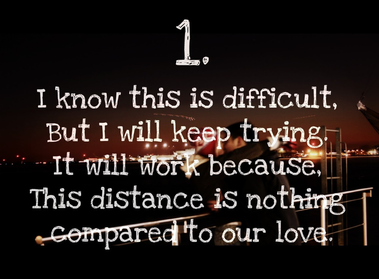 Inspirational Love Quotes for Long Distance Relationships Cute Love Quotes for Long Distance RElationships