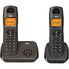 RCA DECT 6.0 Cordless Phone with 2 Handsets 2162-2BKGA