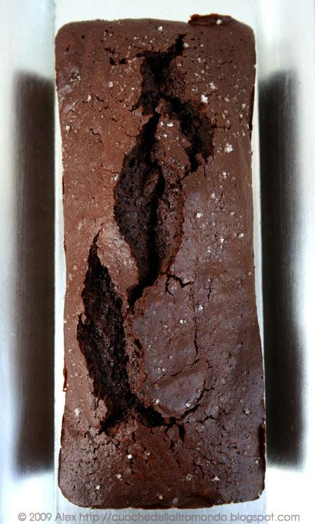 Torta di cioccolato al fior di sale