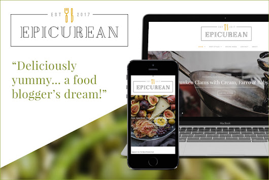 Introducing Epicurean, a WordPress Theme for Food and Recipe Bloggers