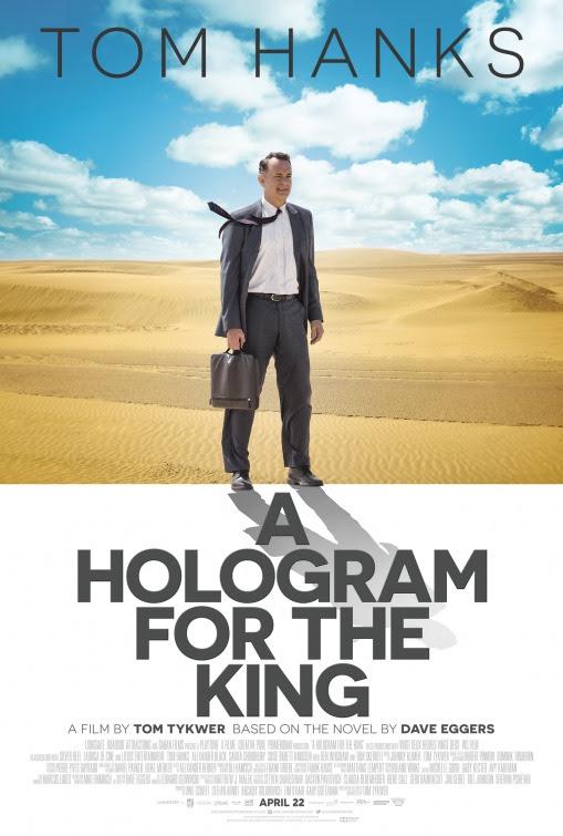 Resultado de imagem para movie poster a hologram for the king