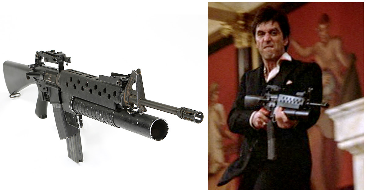 Al Pacino Say Hello To My Little Friend Grenade Launcher Scarface