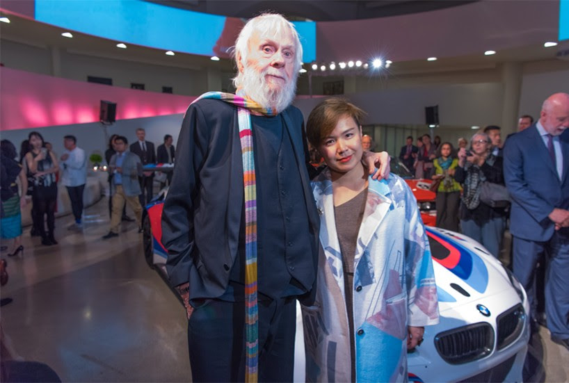 cao fei's BMW 'art car 18' delves into chinese contemporary culture