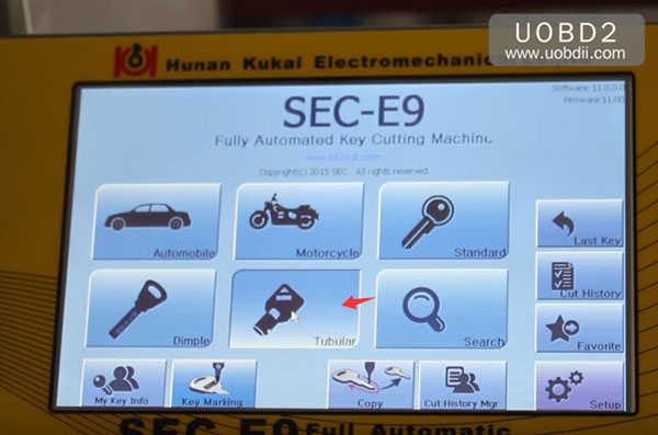 трубчато-копировально-фрезерный-втор-e9 ключ-машина 18