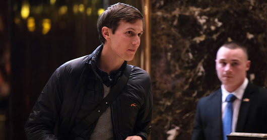 Donald Trump's Son-in-Law, Jared Kushner, Tests Legal Path to White House Job