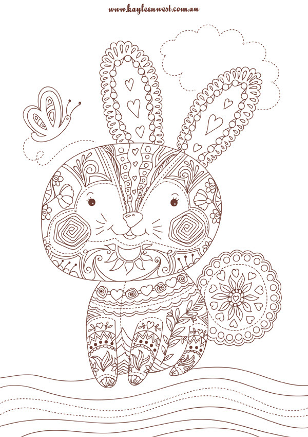 Free Colouring Pages to download for adults and kids