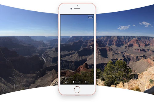 Facebook now turns panoramas into 360-degree photos