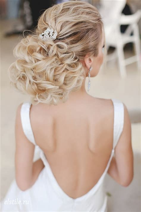 26 Chic Timeless Wedding Hairstyles from Elstile   Deer
