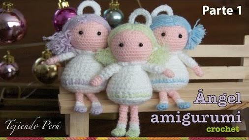 Angel En Amigurumi : #Video: angel tejido a crochet (#amigurumi)! #angel # ...