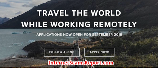 Is Remote Year a Scam? - Travelling Have Many Other Ways - Internet Scams Report
