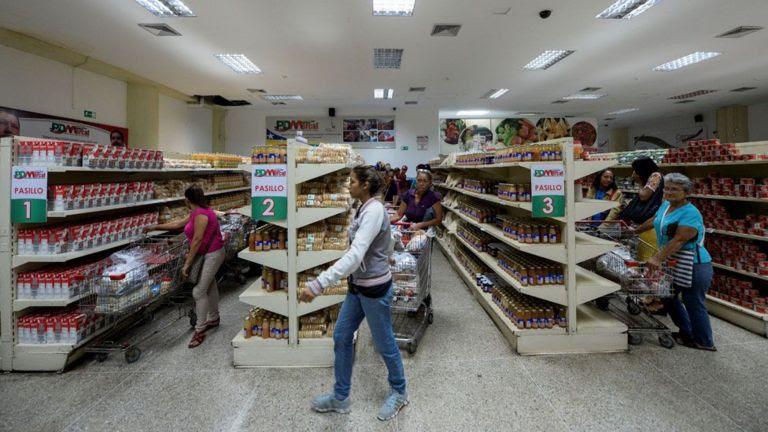 Una imagen que no se veía por meses en Venezuela. Pero con detalle algo desesperanzador: pocos venezolanos los pueden comprar.