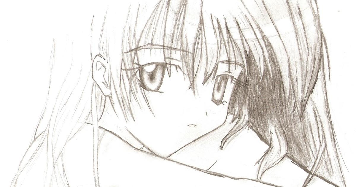 رسم انمي حزين سهل Makusia Images