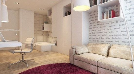 Apartment design collections 309 bedroom studio apartment for One bedroom apartment renovation ideas