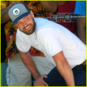 Justin Timberlake Gives a Baby the 'Lion King' Treatment! (Video)