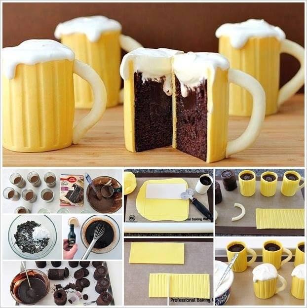 How to DIY Beer Mug Cupcakes | iCreativeIdeas.com Like Us on Facebook ==> https://www.facebook.com/icreativeideas