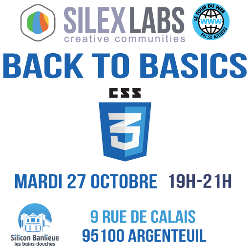 Atelier Back to Basics CSS3 : C'est Super Simple ! - Silex Labs