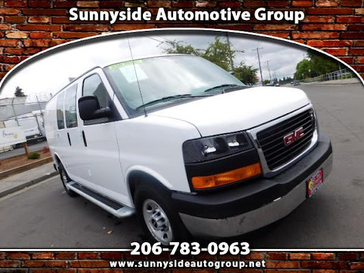 Used 2017 GMC Savana G2500 Cargo for Sale in Seattle WA 98133 Sunnyside Automotive Group