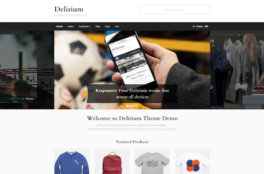 Kick off 2014 with our new eCommerce theme - WPZOOM