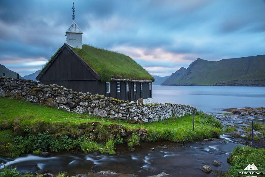 Church Of Funningur, Faroe Islands