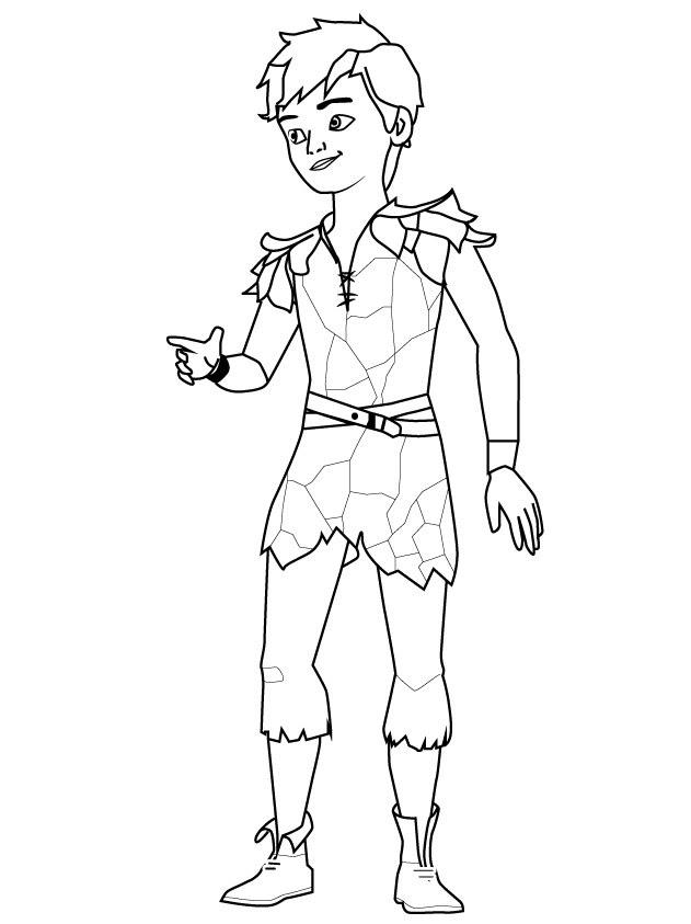 Peter Panı Boya Yazdır Minika Oyun