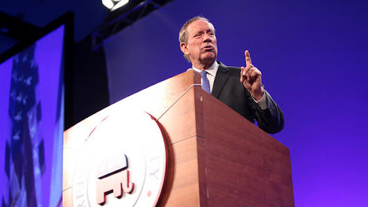 George Pataki leads 2016 GOP crowd…in believing in climate change action.