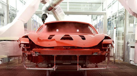 Ferrari Adopts New Low Temperature Paint Technology - Motoraty