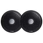 FUSION MS-FR4GB Grill Covers - Black for FR-Series Speakers
