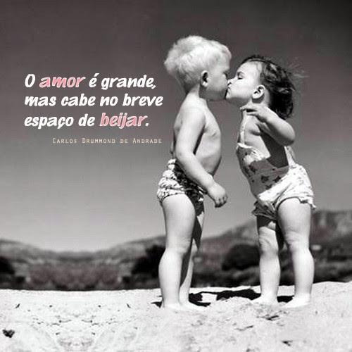 Frases De Carlos Drummond De Andrade No Facebook O Amor é Grande