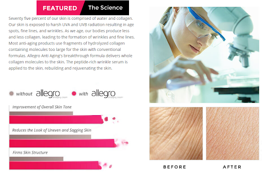 Allegro Cream : Restore Your Damaged Skin, Look Young! -