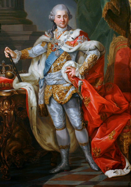 Archivo:Stanisław II August Poniatowski in coronation clothes.PNG