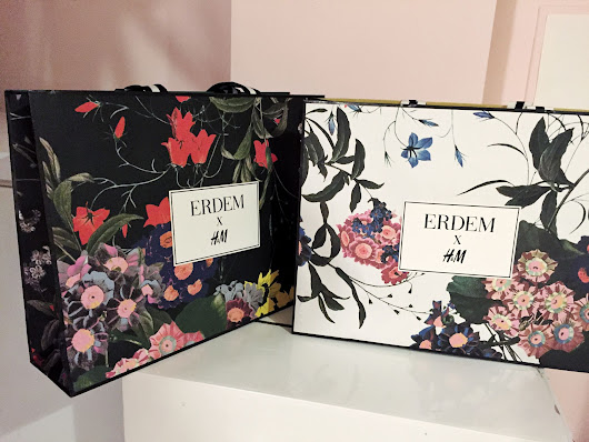 Erdem x H&M Haul + Shopping Experience - SINCERELY OPHELIA