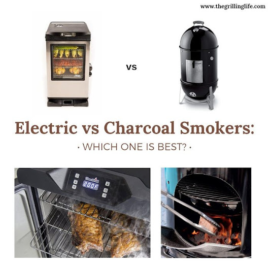 Electric vs Charcoal Smokers: Which One Is Best? More Importantly, Which One Is best For You?