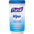 Purell Hand Sanitizing Wipes, Clean Refreshing Scent - 40 wipes