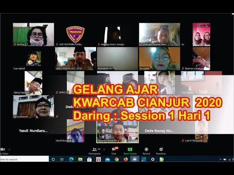 VIDEO : Gelang Ajar Kwarcab Cianjur Tahun 2020